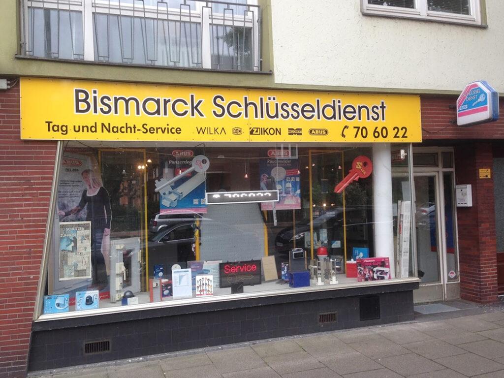 Bismarck Schlüsseldienst Bremen - Kompetent, preiswert und seriös - Bismarck Schlüsseldienst Ladengeschäft